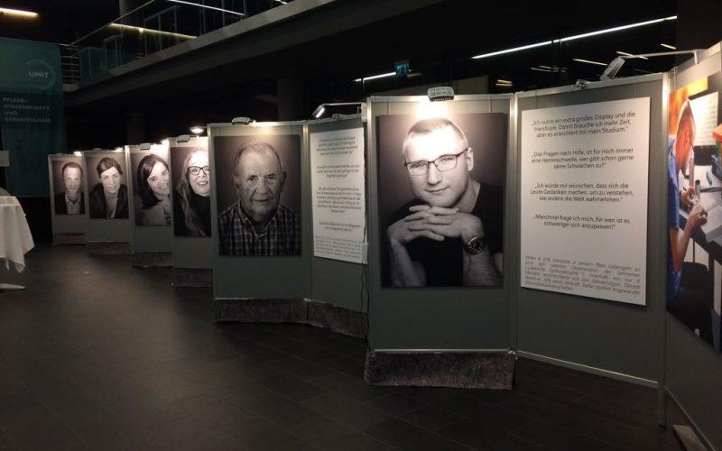 """Impression der Ausstellung """"Ein Teil von mir"""""""